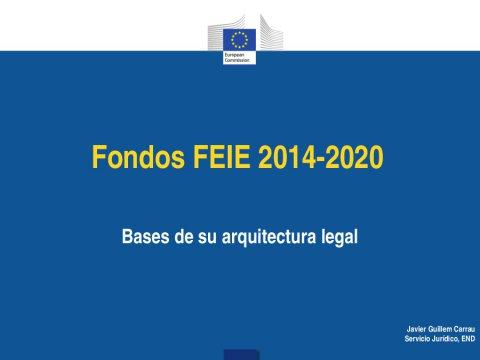 Novos e permanentes retos para os estados membros na xestión dos fondos europeos  - Os novos Fondos Europeos e a súa execución en España